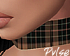 Plaid Choker | Brown