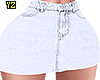 Mini Skirt White RL