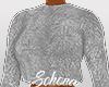 ṩFuzzy Sweater  Grey