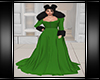 Winter Gown Green