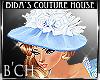 (B'CH) Clara Hat blue