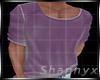 $Tshirt Effect Neon Purp