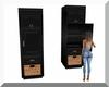 Black Storage Cupboard