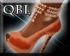 Copper Club Heels