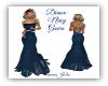 Diana Navy Blue