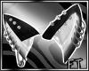 Blk&Wht Wolf Ears V2[FT]