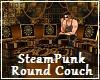 Steampunk Round Couch
