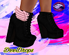 -D- Pink Wing Boots