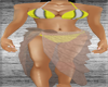 [am69] blk & Slvr bikini
