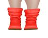 *AC* Red Orange Boots