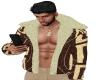 IB| Tribal Fur Coat Bwn