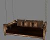 {DD}Rustic Swing Bed