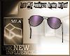 [MLA] Glasses purple