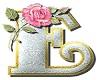 E - Letter Sticker