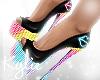 Neon Glow Heels