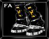 (FA)Cybernetic Boots Gld