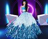 Little Shen Blue Dress