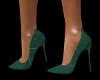 High Heels Dark Green