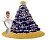 Sapphire Christmas Tree