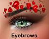 Valentine eyebrows - F