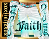 [L] FAITH White Pants M