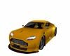 Yellow Aston Martin