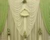 Green Wedding Backdrop
