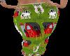 Barn Cow PJ Bottoms