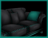 Cyan PVC- Couch