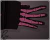 Pink Skelly Gloves