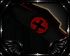 Nurse Hat Black/Red