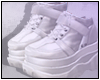 Alina Boots White