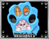 !W! Whiskers Ad Cyan