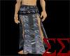 Black PVC Battle Skirt