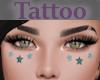 Tattoo Cheeks Star Blue