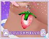 Sm~ Strawberry EarringsP