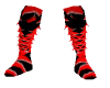 black & red ninjato boot