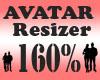 Avatar Scaler 160% / F