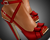 A- Ribbon Red Heels