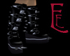 [EE] PVC Spike Boots MM