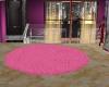 LC} Rug circle pink