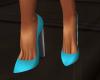 [CI]Plain Pmps Turquoise