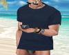 Navy Blue T-Shirt [M]