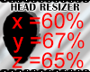 *M* Head Resizer Scaler