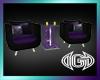 Club Chair Set *Purple
