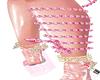 @PINK SNAKE LEG ANIMATED