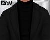 Black Turtleneck Suit