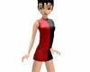 Short Dress Red n Black