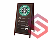Starbucks Menu Sign