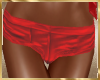 A44 Red Mini Shorts